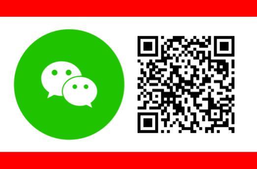 Red QR + WeChat Logo